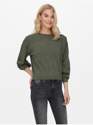 Kaki sveter ONLY Cozy