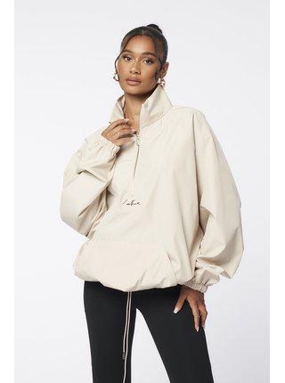 Béžová dámská bundaJACKET SHELL NECK FUNNEL ESSENTIALS
