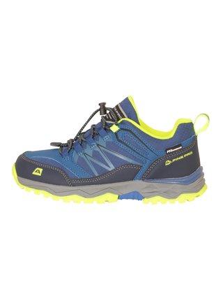 Dětská outdoorová obuv s membránou ALPINE PRO CERMO modrá