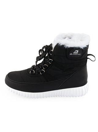 Dámské obuv zimní ALPINE PRO NERA černá