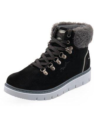 Dámské obuv zimní ALPINE PRO MARLA černá