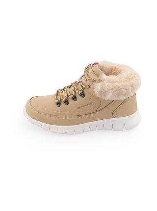 Dámské obuv zimní ALPINE PRO CORMA šedá