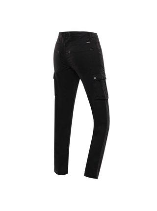 Pánské strečové kalhoty ALPINE PRO IDRIL černá
