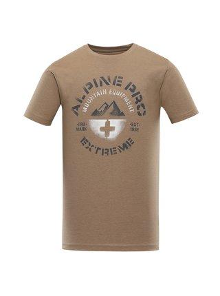 Pánské bavlněné triko ALPINE PRO DRACH zelená
