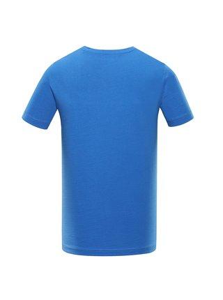Pánské bavlněné triko ALPINE PRO DRACH modrá