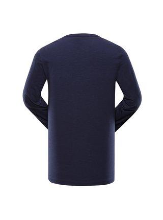 Pánské bavlněné triko ALPINE PRO MEGAN 2 modrá
