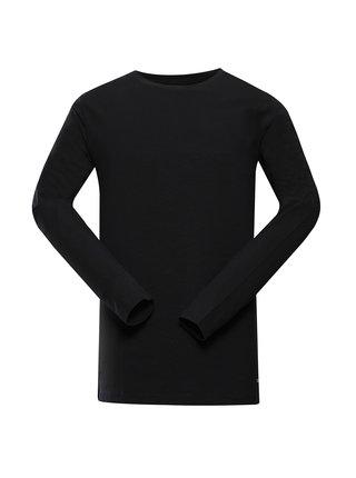 Pánské bavlněné triko ALPINE PRO MEGAN 2 černá