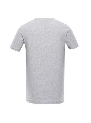 Pánské bavlněné triko ALPINE PRO BERTOL 2 šedá