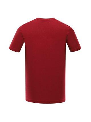 Pánské bavlněné triko ALPINE PRO MELL červená