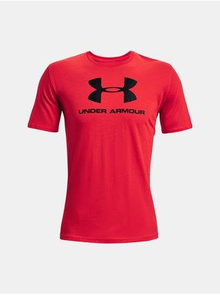 Tričko Under Armour UA SPORTSTYLE LOGO SS- červená