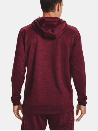 Mikina Under Armour UA Armour Fleece Twist HD- červená
