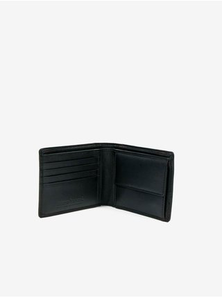 Černá pánská kožená peněženka Bruno Banani