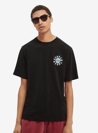 Černé pánské tričko Scotch & Soda