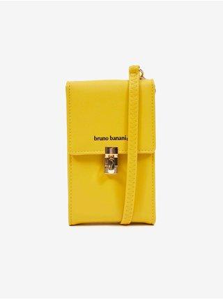 Žlutá dámská taštička na telefon Bruno Banani