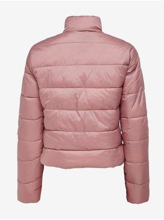 Růžová prošívaná bunda Jacqueline de Yong Embrace