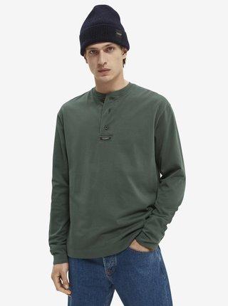 Zelené pánske tričko Scotch & Soda