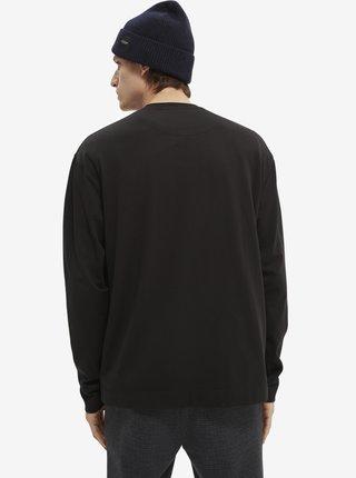 Čierne pánske tričko Scotch & Soda