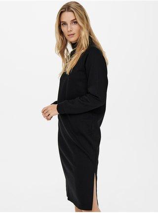 Černé mikinové šaty Jacqueline de Yong Lucy