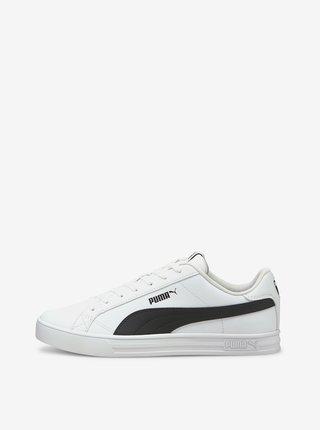 Čierno-biele dámske tenisky Puma
