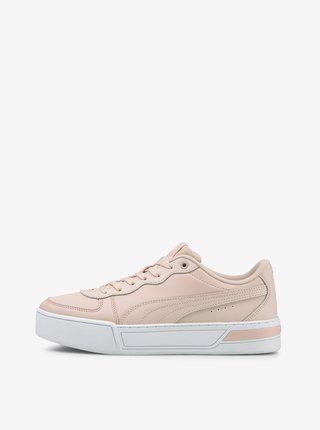 Světle růžové dámské tenisky Puma