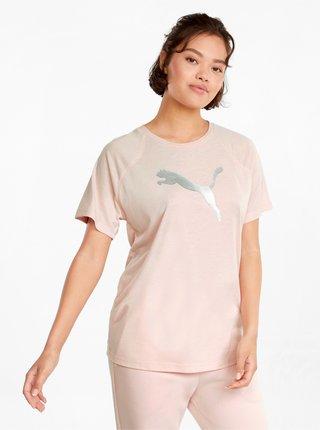 Světle růžové dámské tričko Puma