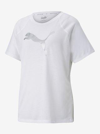 Bílé dámské tričko Puma