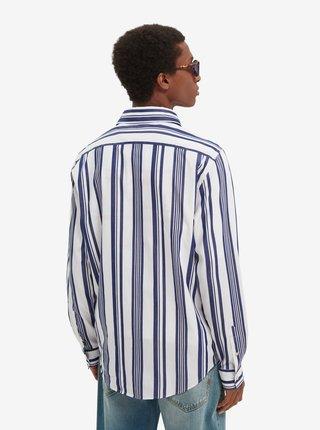 Modro-biela pánska pruhovaná košeľa Scotch & Soda