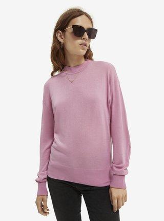 Dámsky ružový sveter Scotch & Soda