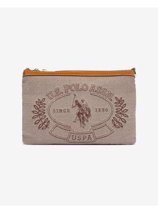 Kabelky pre ženy U.S. Polo Assn. - hnedá