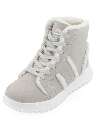 Dámské obuv zimní ALPINE PRO KETERA šedá