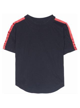 Černé dámské crop top tričko June Sixth