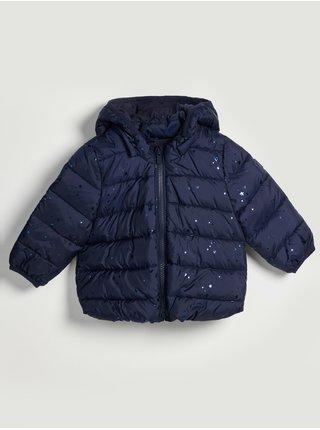 Modrá holčičí bunda prošívaná puffer GAP