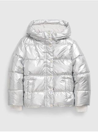 Šedá holčičí bunda classic warmest GAP