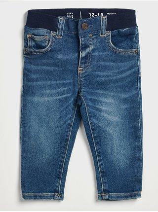 Modré klučičí džíny slim organic GAP