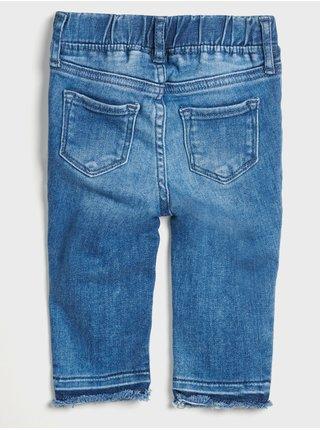 Modré holčičí džíny jegging knee GAP