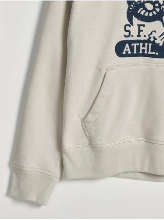 Bílá klučičí mikina cool sweats GAP