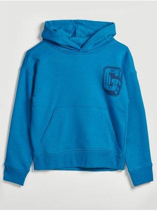 Modrá klučičí mikina cool sweats GAP