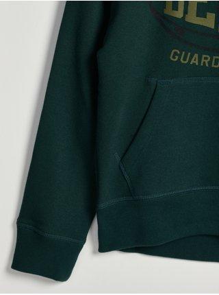 Zelená klučičí mikina cool sweats GAP