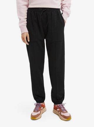 Nohavice pre ženy Scotch & Soda - čierna