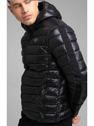Černá pánská prošívaná bunda JACKET BUBBLE WEIGHT LIGHT
