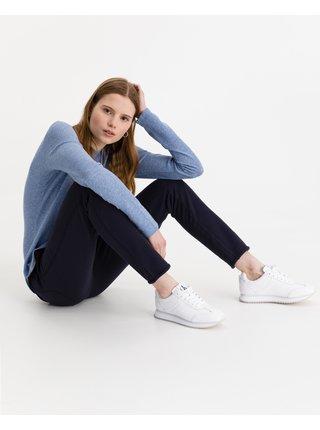 Tričká s dlhým rukávom pre ženy JUVIA - modrá