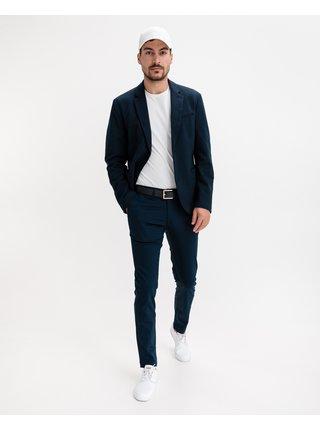 Voľnočasové nohavice pre mužov GANT - modrá