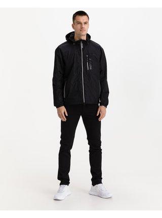 Ľahké bundy pre mužov Replay - čierna