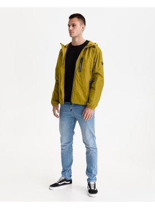 Ľahké bundy pre mužov Replay - žltá