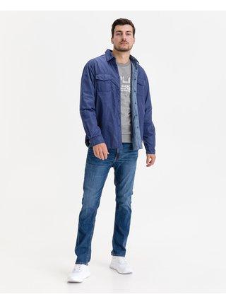 Ľahké bundy pre mužov Replay - modrá