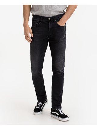 Straight fit pre mužov Replay - čierna
