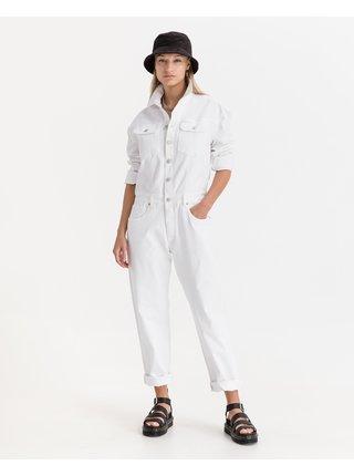 Overaly pre ženy Replay - biela