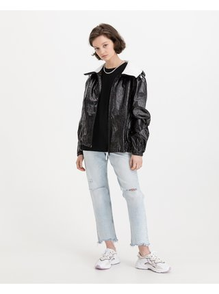 Ľahké bundy pre ženy Replay - čierna