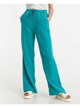 Nohavice pre ženy Replay - modrá