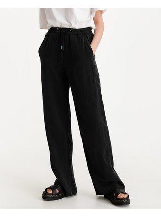 Nohavice pre ženy Replay - čierna